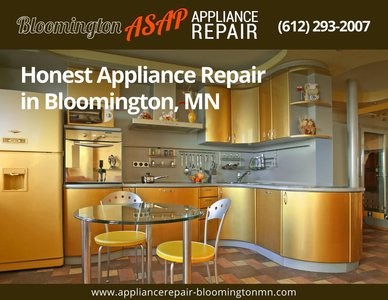 Bloomington Asap Appliance Repair 612 293 2007